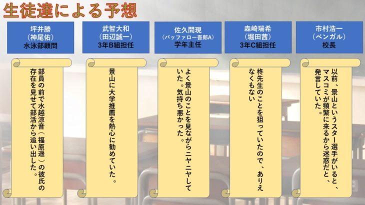 ドラマ「3年A組」6話のあらすじを相関図化!